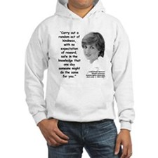 Diana Kindness Quote 3 Jumper Hoody