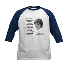 Diana Kindness Quote 3 Tee