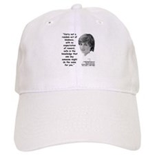 Diana Kindness Quote 3 Baseball Cap