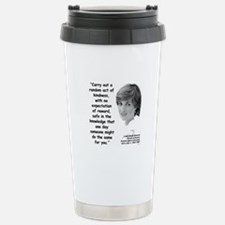 Diana Kindness Quote 3 Travel Mug