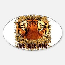 the tiger in me Decal