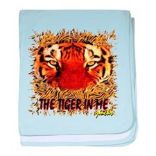 the tiger in me baby blanket