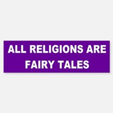 fairy tales... Bumper Car Car Sticker