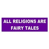 Anti christian Bumper Stickers
