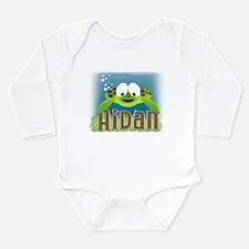 aidan kai Long Sleeve Infant Bodysuit