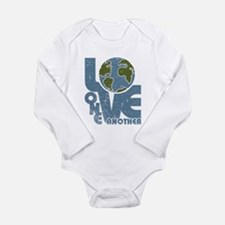Love One Another Long Sleeve Infant Bodysuit