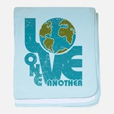 Love One Another baby blanket