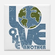 Love One Another Tile Coaster