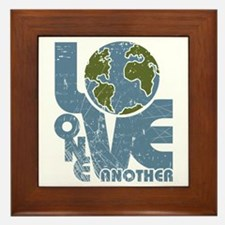 Love One Another Framed Tile