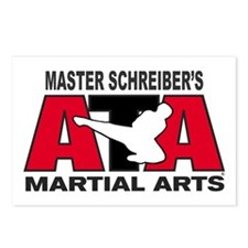 Schreiber's ATA Martial Arts Postcards (Package of