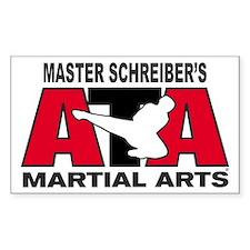 Schreiber's ATA Martial Arts Rectangle Decal