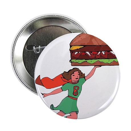 """Burger Babe 2.25"""" Button"""