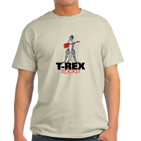 Tyrannosaurus Rex Rocks Light T-Shirt