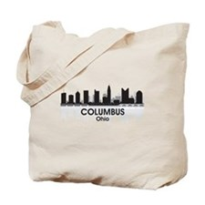 Columbus Skyline Tote Bag