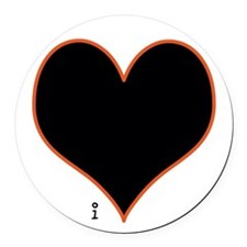 Love Is The Answer Round Car Magnet