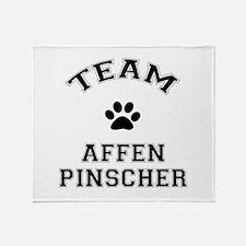 Team Affenpinscher Throw Blanket