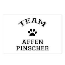 Team Affenpinscher Postcards (Package of 8)
