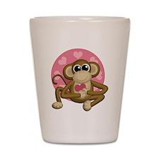 Love Monkey Shot Glass