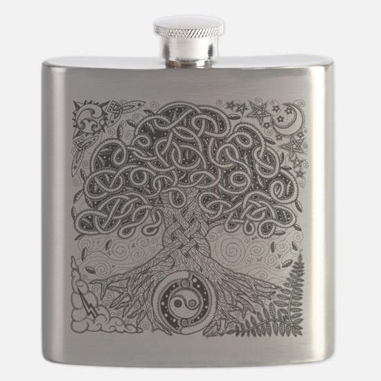 Celtic Tree of Life Ink Flask