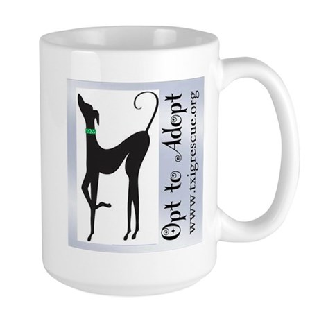 Opt to Adopt Large Mug