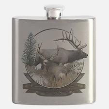 Big Game elk and deer Flask