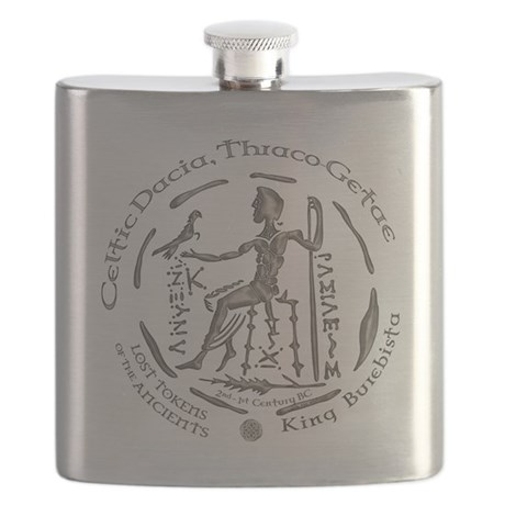 Celtic King Coin Flask