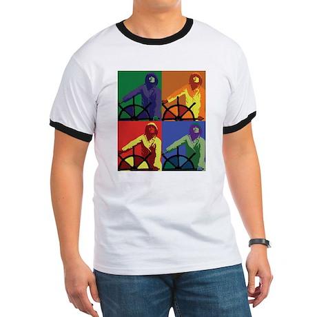Pop Art Man at the Wheel T-Shirt