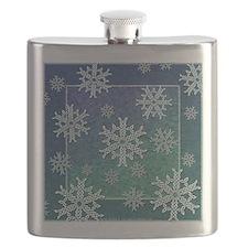 Celtic Snowflakes Flask