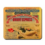 Orient express Mouse Pads
