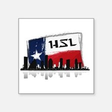 "HSL Logo Square Sticker 3"" x 3"""