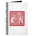 KITTY CATS IN RED Journal