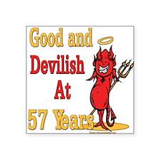 "Devislish57.png Square Sticker 3"" x 3"""