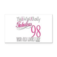 Fabulous 98yearold.png Rectangle Car Magnet