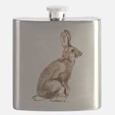 Curious Rabbit Flask