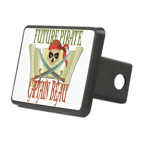 PirateBeau.png Rectangular Hitch Cover