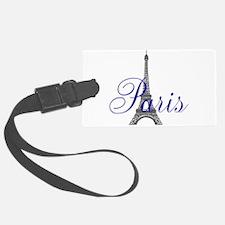 Paris Always (blue) Luggage Tag