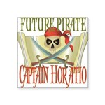 PirateHoratio.png Square Sticker 3