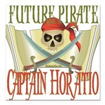 PirateHoratio.png Square Car Magnet 3