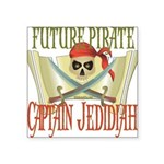 PirateJEDIDIAH.png Square Sticker 3