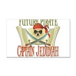 PirateJEDIDIAH.png Rectangle Car Magnet