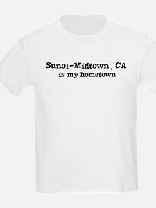 Sunol-Midtown - hometown Kids T-Shirt