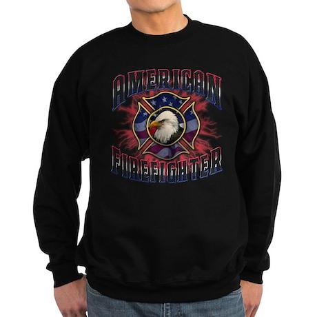 American Firefighter Lightning Sweatshirt