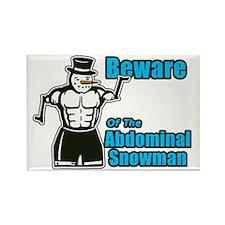 Abdominal Snowman Rectangle Magnet
