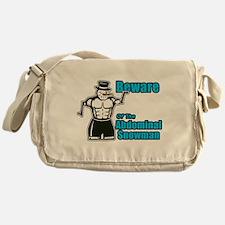 Abdominal Snowman Messenger Bag