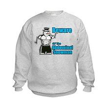 Abdominal Snowman Sweatshirt