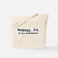 Kellogg - hometown Tote Bag