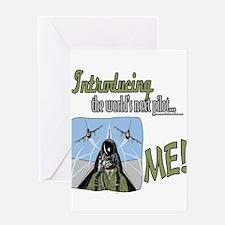 LTIntroducingPilotver6 copy.png Greeting Card