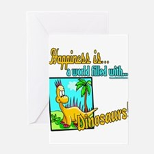 HappinessDinosaurs copy.png Greeting Card