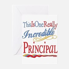 Incredible PRINCIPAL.png Greeting Cards (Pk of 10)