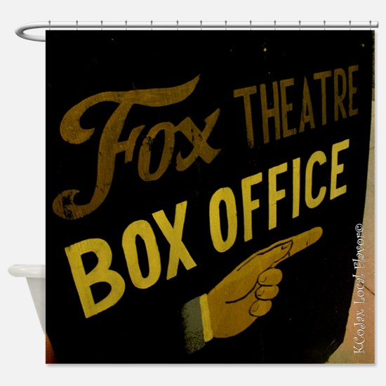 Box Office This Way Shower Curtain